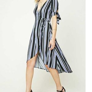 Forever 21 Contemporary Collection Wrap Dress